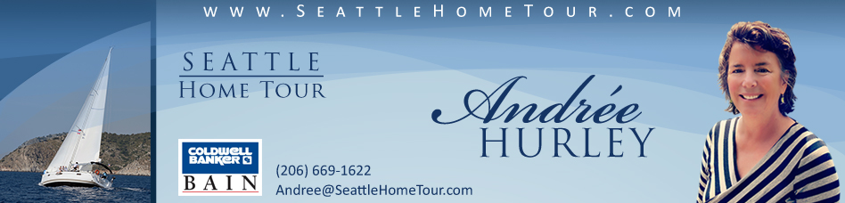 Buy or sell a house in Seattle with Andree Hurley, real estate broker and REALTOR®
